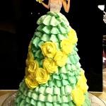 フリルタイプドレス
