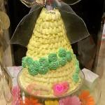 専用ケーキに入れてお届け!!