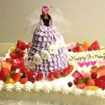 特大ケーキの上に乗せる事も可!