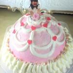 ピンクハートドレス