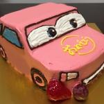 立体乗り物ケーキ